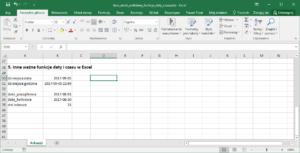 Excel dni robocze - Jak policzyć dni robocze w Excel