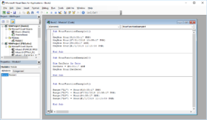 Funkcje VBA Excel – Funkcja Hour VBA