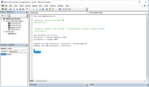 Funkcje VBA Excel – Funkcja StrComp VBA
