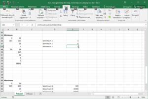 Kurs Excel podstawy - Funkcje Matematyczne - Excel Minimum