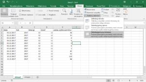 Kurs Excel Podstawy - blokowanie widoku