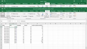 Kurs Excel Podstawy - blokowanie okienek