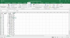 Kurs Excel Podstawy - Excel filtrowanie wierszy