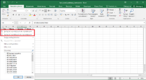 Kurs Excel Podstawy - Excel sortowanie
