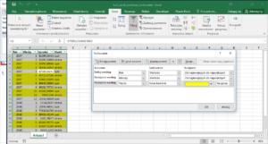 Kurs Excel Podstawy - sortowanie Excel