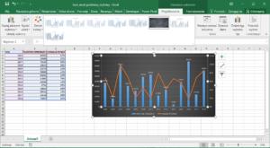 Kurs Excel Podstawy - Excel wykresy. Style i kolory