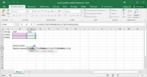Excel przykłady - Excel średnia ważona